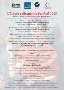 Opera galleggiante Festival 2015